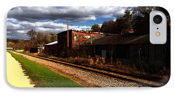 Passing Through Galena Illinois IPhone Case by David Blank