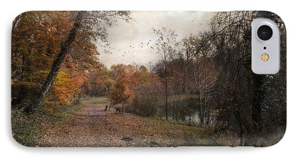 Passing Through Hopkins Pond IPhone Case by John Rivera