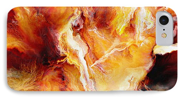 Passion - Abstract Art IPhone Case by Jaison Cianelli