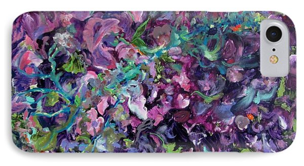 IPhone Case featuring the painting Passion by Anne Dentler