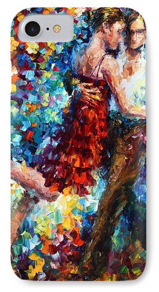 Passion Dancing Phone Case by Leonid Afremov