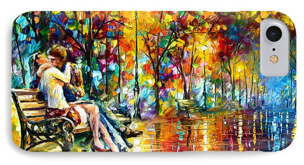 Passion Evening -  New IPhone Case by Leonid Afremov