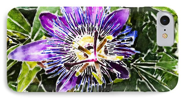 Passion Fruit Flower IPhone Case