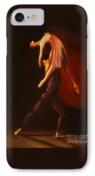 IPhone Case featuring the painting Passion by Nancy Bradley