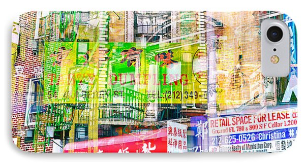 Passion Nyc Chinatown Madness IPhone Case