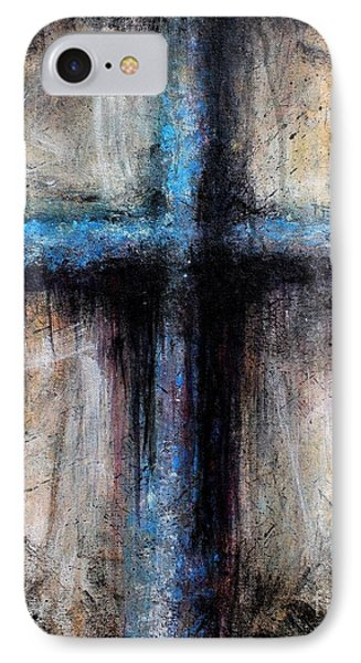 Passion Of The Cross IPhone Case by Michael Grubb