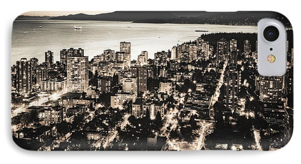 IPhone Case featuring the photograph Passionate English Bay Mccclxxviii by Amyn Nasser