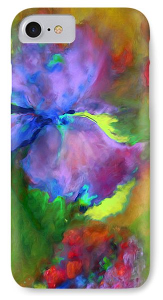 Passionate Garden - Abstract IPhone Case by Georgiana Romanovna
