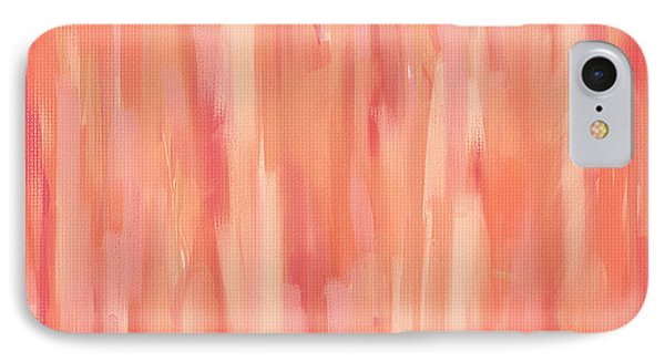 Passionate Peach IPhone Case by Lourry Legarde