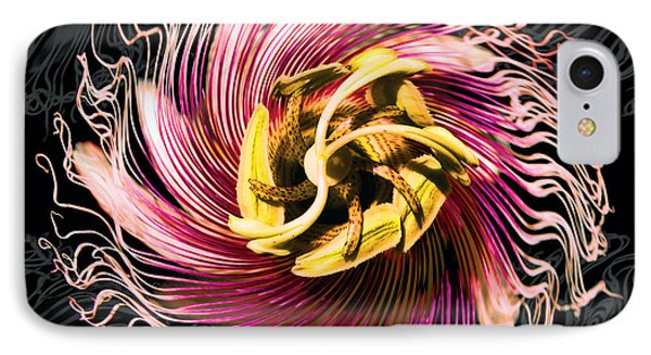 Passionfruit With A Twist IPhone Case by Bill Jonas