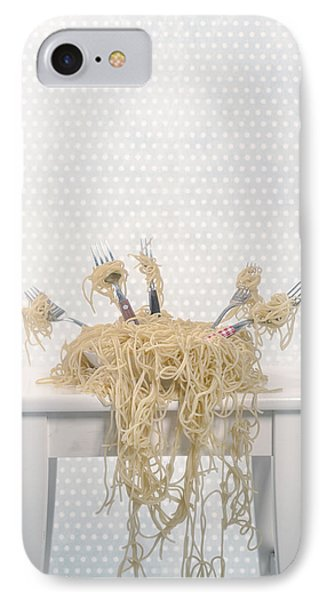 Pasta For Five IPhone Case by Joana Kruse