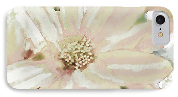 Pastel Daisy Photoart IPhone Case by Debbie Portwood