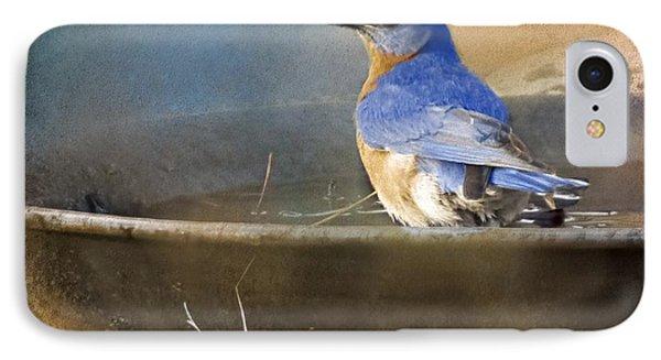 Pastel Eastern Bluebird IPhone Case