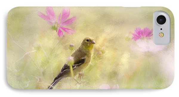 Pastel Finch In Oil IPhone Case