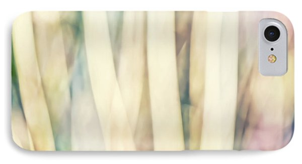 Pastel Forest Wild Grasses Photographic Abstract IPhone Case by Natalie Kinnear