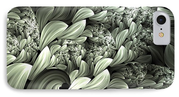 Pastel Garden Abstract IPhone Case