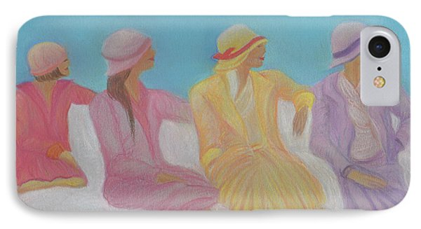 Pastel Hats By Jrr Phone Case by First Star Art