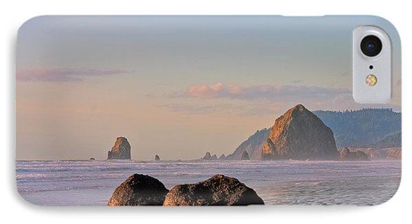 Pastel Haystack Rock IPhone Case