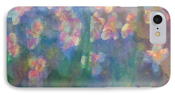 IPhone Case featuring the painting Pastel Petals by Holly Martinson