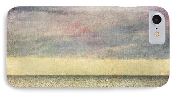 Pastel Sea - Textured IPhone Case by Karen Stephenson
