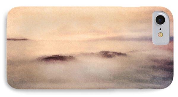 Pastel Soft Waters  IPhone Case by Georgiana Romanovna
