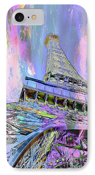 Pastel Tower IPhone Case by Az Jackson