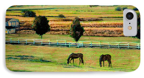 Pastoral Green IPhone Case by Cindy McIntyre