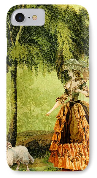 Pastoral Lady IPhone Case by Sarah Vernon