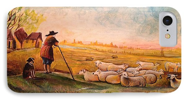 Pastoral Landscape Phone Case by Egidio Graziani