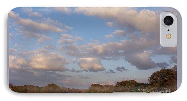 Pasture Clouds IPhone Case