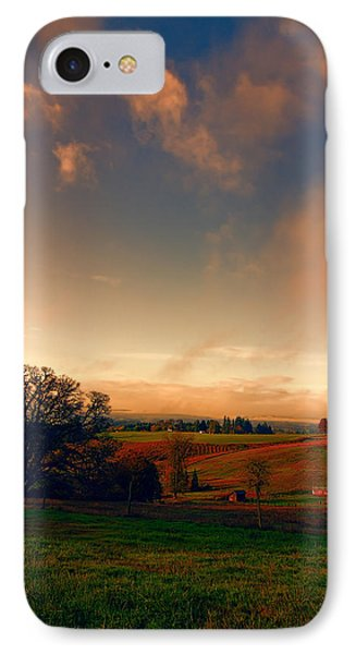 Pastureland IPhone Case by Don Schwartz
