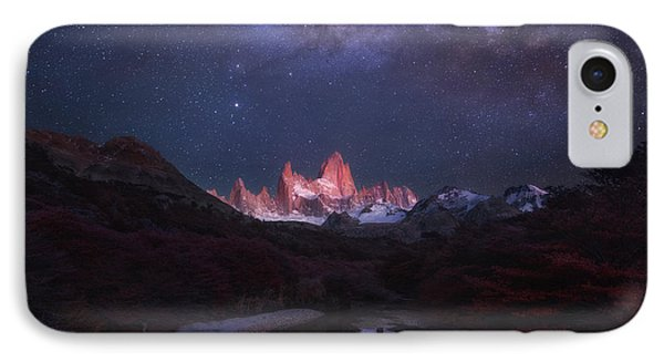 Patagonia Autumn Night IPhone Case