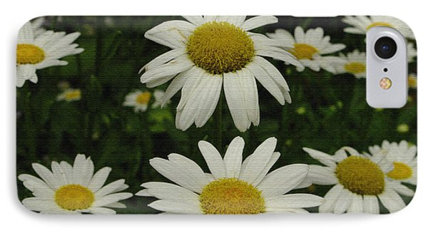 IPhone Case featuring the photograph Patch Of Daisies by James C Thomas