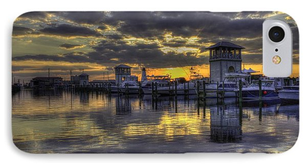 IPhone Case featuring the photograph Patches In The Harbor by Maddalena McDonald