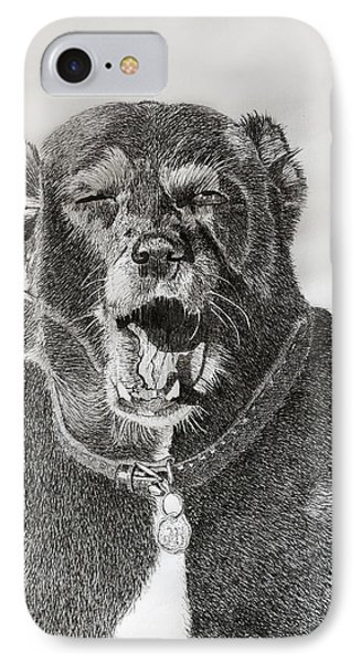 Patches-the Old Girls Tired IPhone Case