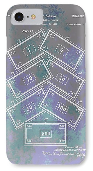 Patent Art Money IPhone Case