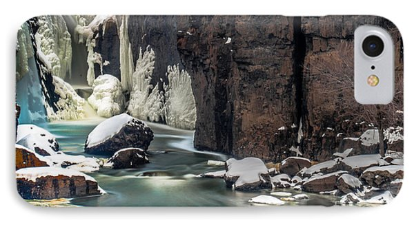 Paterson Falls Frozen Fantasy IPhone Case