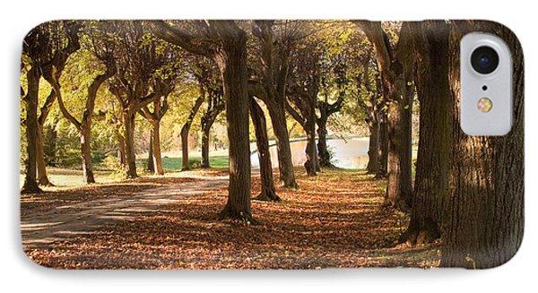 Path 5 - Garden Photography IPhone Case
