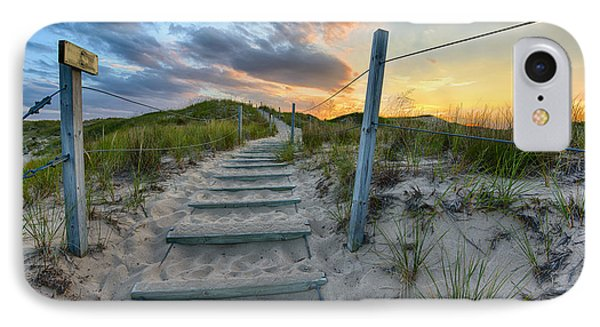 Path Over The Dunes IPhone 7 Case by Sebastian Musial