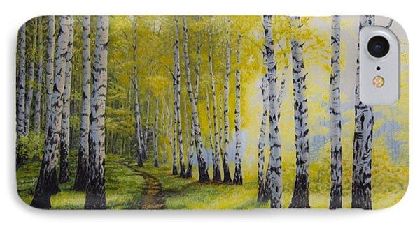 Path To Autumn IPhone Case by Veikko Suikkanen
