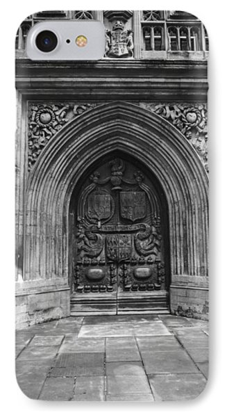 Path To Bath Abby Door Phone Case by Denise Dube & Path To Bath Abby Door Photograph by Denise Dube pezcame.com