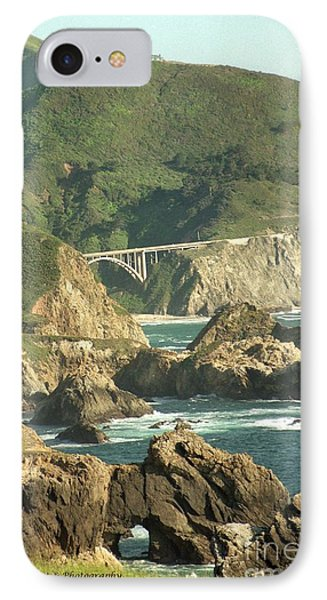 Path To Bixby Bridge Phone Case by DJ Laughlin