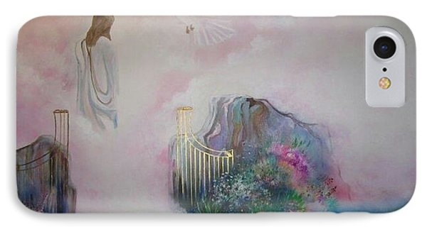 Path To Glory Panel 4 Phone Case by Kendra Sorum