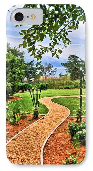 Garden Path To Wild Marsh IPhone Case