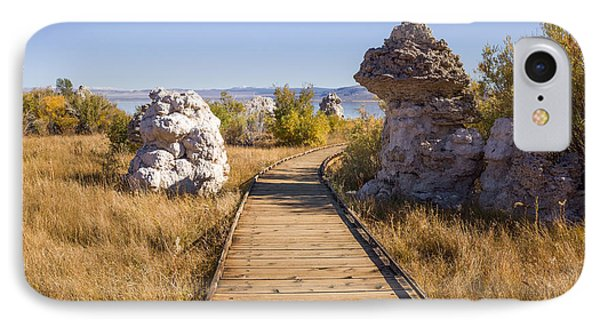 Path To Mono Lake IPhone Case by Priya Ghose