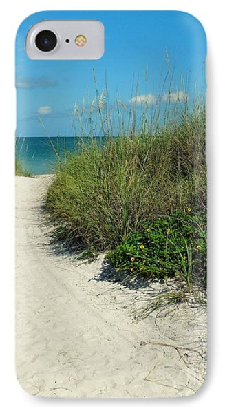 Path To Pass -a- Grille IPhone Case by Valerie Reeves