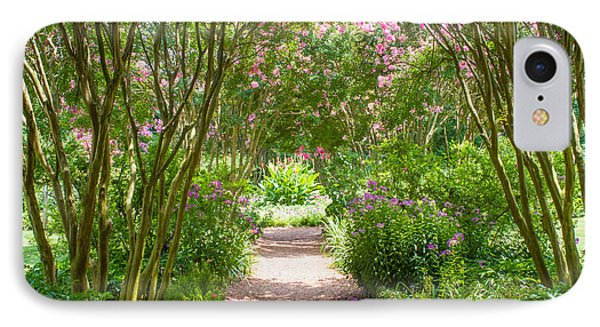 Path To The Garden IPhone Case by Robert Hebert