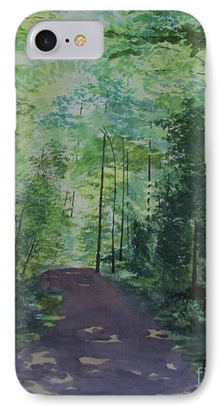 Path To The River IPhone Case by Martin Howard