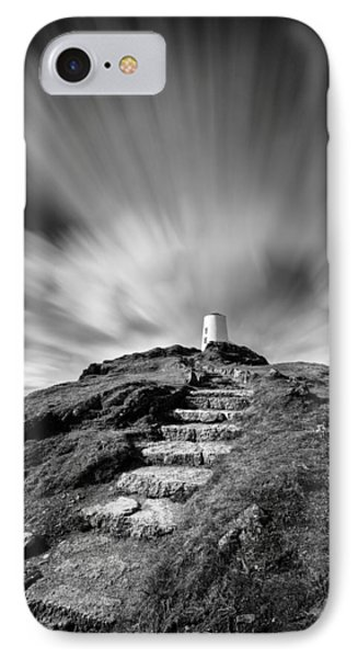 Path To Twr Mawr Lighthouse IPhone Case