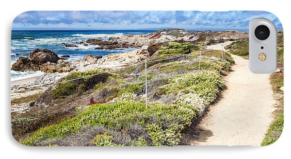Pathway At Asilomar State Beach IPhone Case by Priya Ghose
